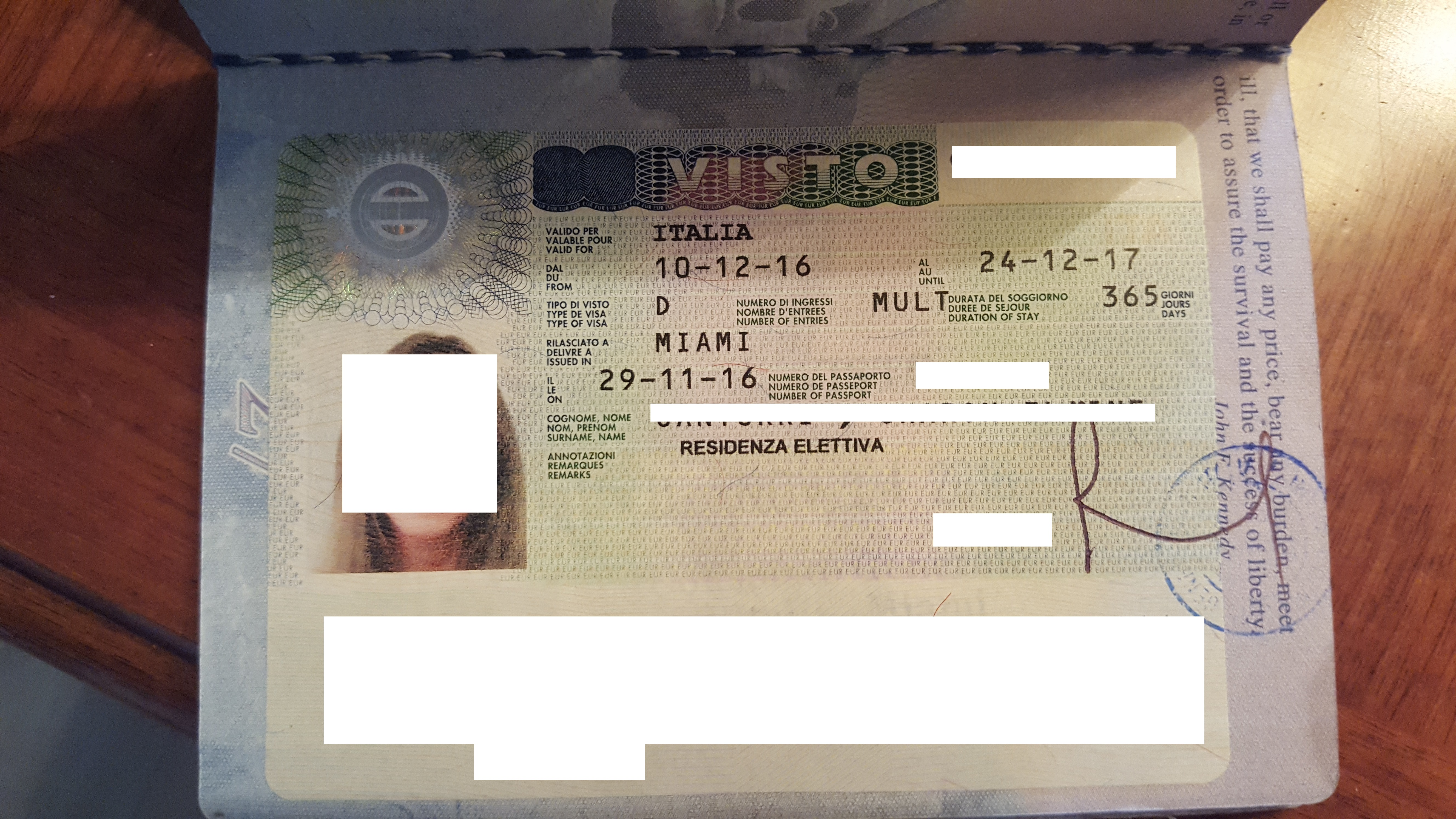 Italian Elective Residence Visa Application - Studio Legale Metta