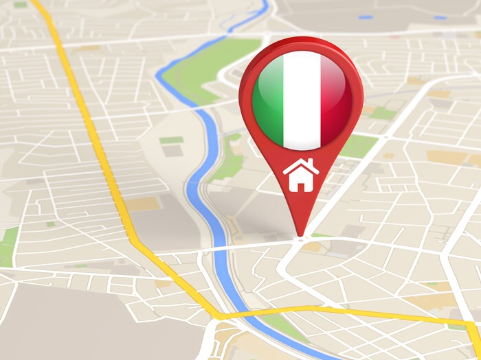 Italian residence registration