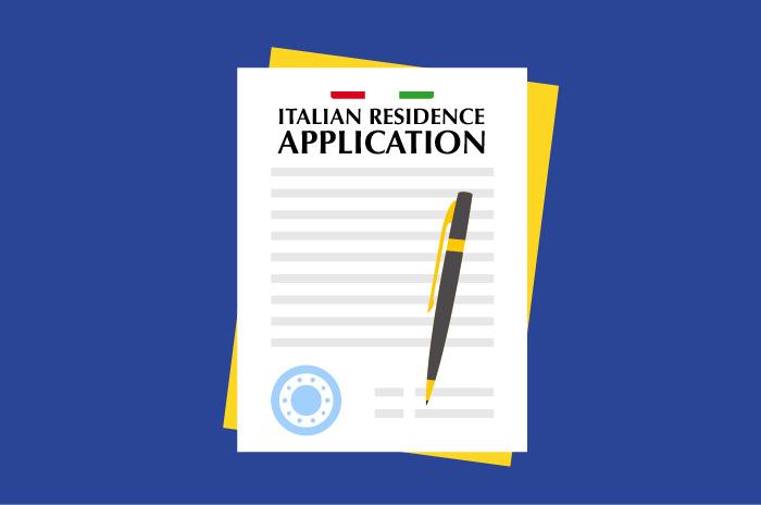 Italian Residence Application