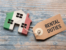 Italian property rental duties