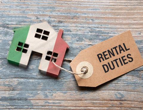 Italian property rental duties
