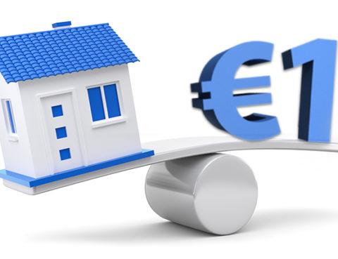 Italian properties for one euro