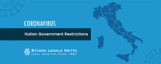 italian -government - restrictions