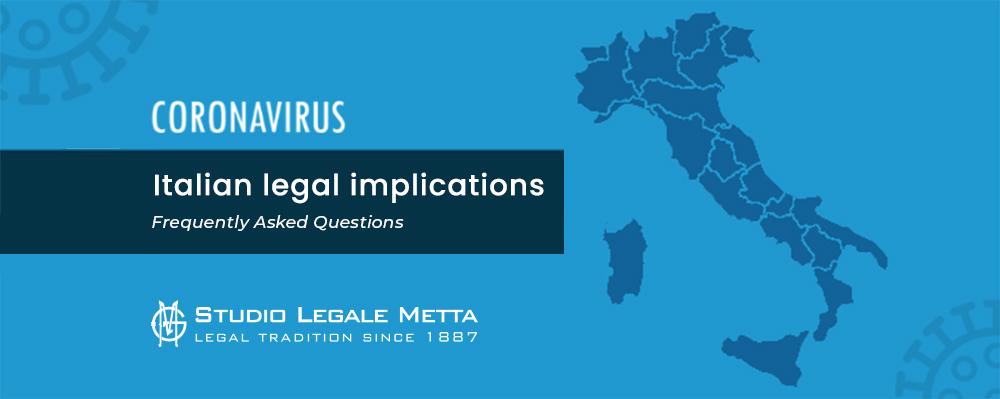 italian -legal -implications
