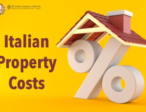Italian property costs
